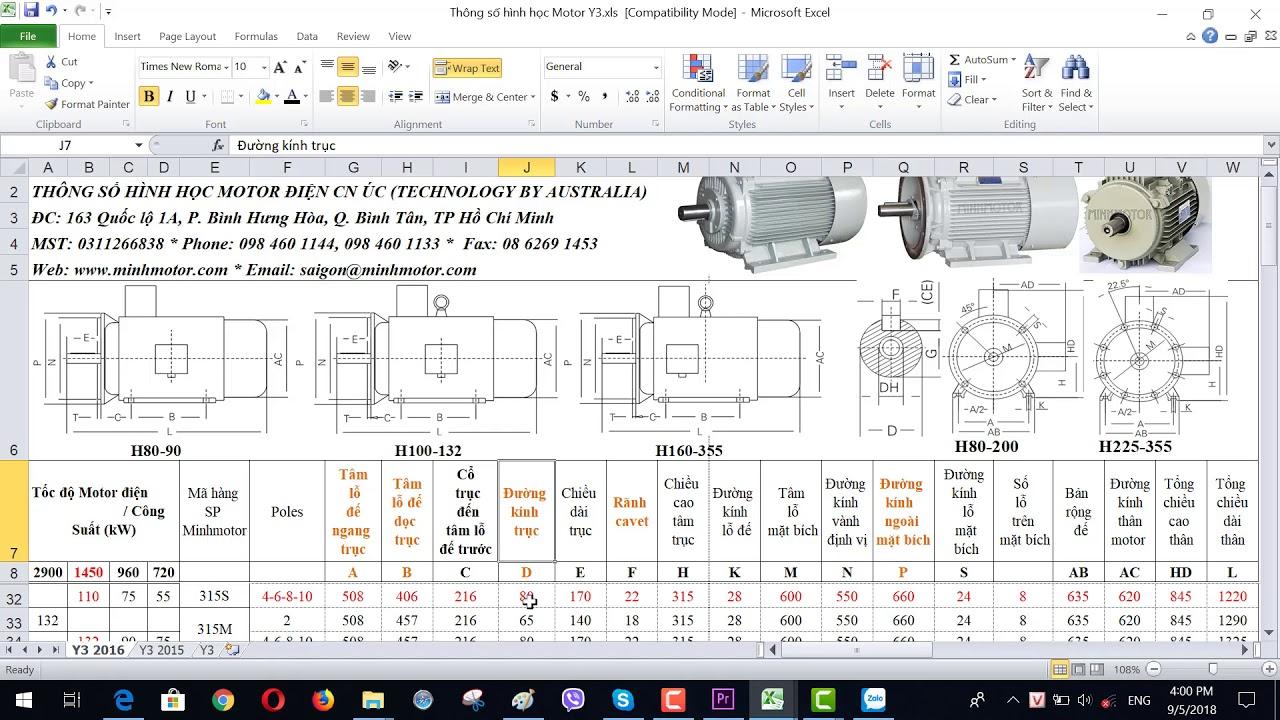 Bản vẽ kỹ thuật động cơ điện 110 kw 150 HP 1400-1500 vòng phút, MINHMOTOR 0968140191.