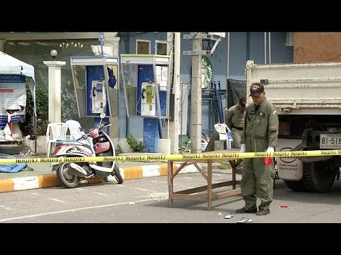 Thai police arrest two men after deadly bomb blasts
