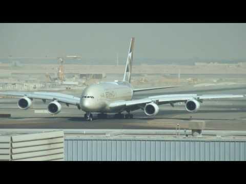 Abu Dhabi Airport | Plane Spotting | AUH