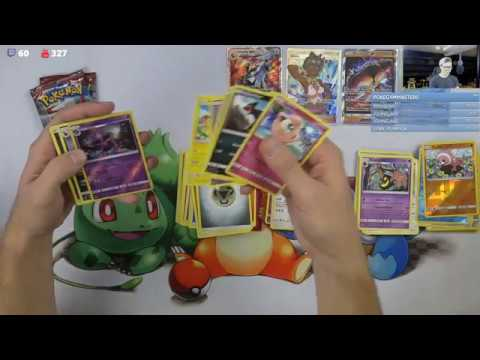 Opening Pokemon Booster Boxes (past livestream)