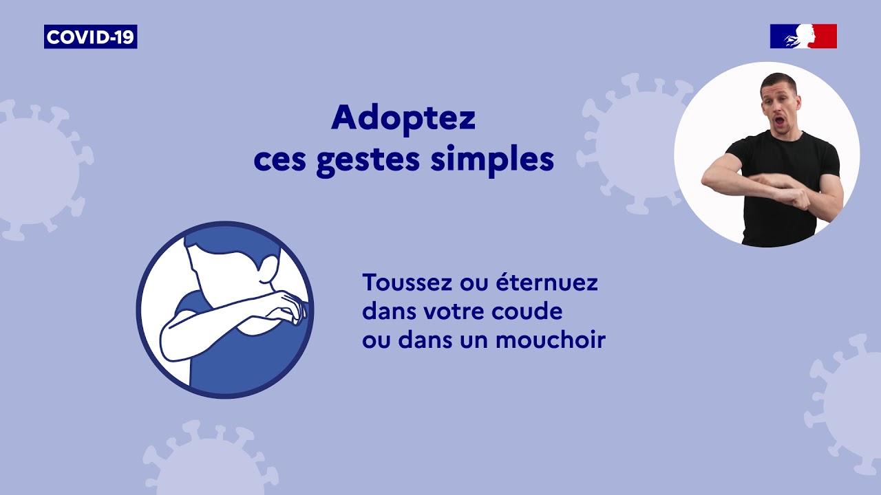 COVID-19 | Adopter les gestes simples pour vous protéger et protéger les autres