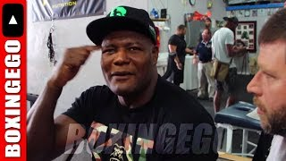 """TEAM LUIS """"KING KONG"""" ORTIZ OUTS DILLIAN WHYTE """"THEYRE RUNNING LIKE H*ES"""" CREDITS WILDER 