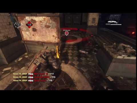 Gears of War:UE Boom triple kill Raven PL 2REP