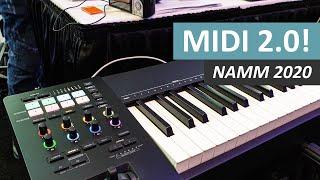 Roland A-88 MKII - NAMM 2020 (MIDI 2.0 Keyboard)