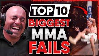 10 Biggest FAILS in MMA