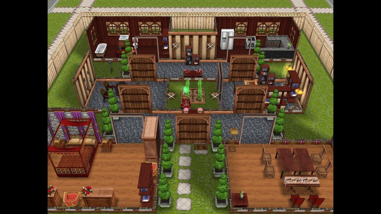Image Result For Desain Rumah The Sims Freeplay Android & Desain Rumah Bagus The Sims Freeplay \u0026 ... Medium Size Of ...