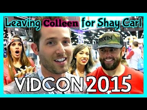Leaving Colleen for ShayCarl #VidCon2015 - Days 220, 221, 222, and 223