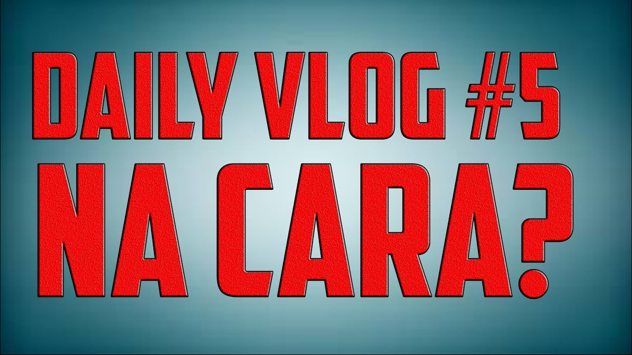 Daily Vlog #5 - Mijo na cara!! - YouTube