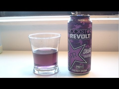 "TPX Reviews - ""Rockstar Energy: Revolt (Killer Grape)"""