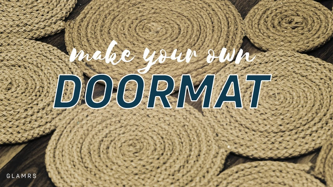 Make Your Own Doormat Glamrs Home
