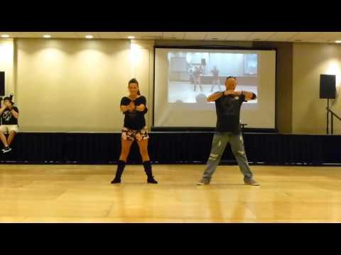 Shake Line Dance Demo by Guyton Mundy @ WCLDM 2015