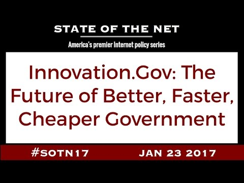 Innovation.Gov: The Future of Better, Faster, Cheaper Government