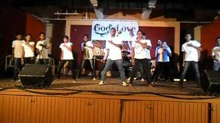 tu hai aasman mein dance by holy family parish youth