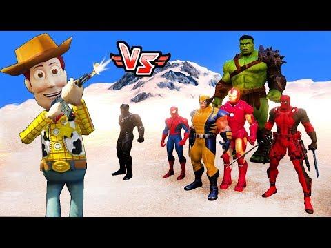 YENİLMEZLER VS ŞERİF WOODY 😱 - Süper Kahramanlar