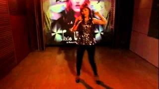 "Pixie Bennett performs "" So Spun""  (8.5.2013)"