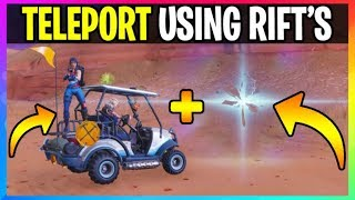 *NEW* Fortnite: How To *TELEPORT* Using RIFT'S (Fortnite Battle Royale) Season 5 Battle Pass