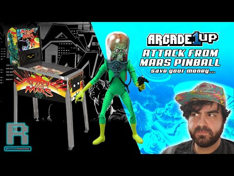 Arcade1UP Attack From Mars Pinball | Complete disappointment! from Restalgia