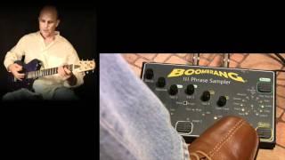 Boomerang III Phrase Sampler Demo, Part 1 - Basic Features