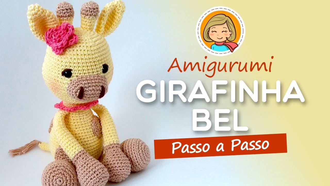 Girafa baby ( amigurumi) no Elo7 | Débora de Assis Crocheteria ... | 720x1280