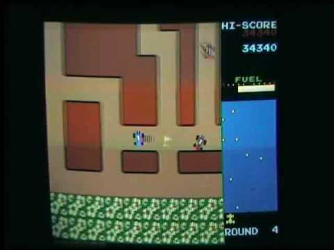 Rally X Hq Arcade Game Original Board Youtube