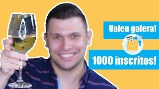 1000 inscritos!!! Valeu Galera!!!