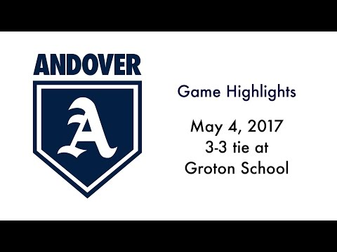 3-3 Tie at Groton School (May 6, 2017)