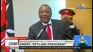 President Kenyatta`s social media pulled down amidst rising tension on the war against corruption