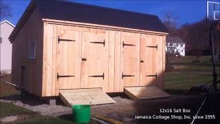 Prefab Shed Delivery With Mule Shed Trailer