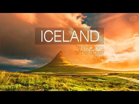 Timelapse - Iceland landscapes | Пейзажи Исландии