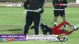 أحمد ناجي : جنش حارس موهوب ووجوده في المنتخب مكسب كبير ..فيديو