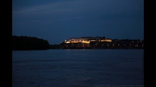 Petrovaradin fortress, Novi Sad, Serbia on river Danube