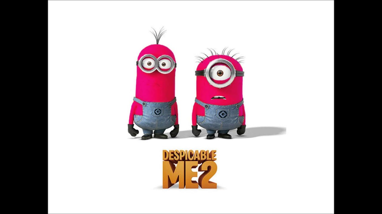 Despicable Me 2  Minions in different colors  YouTube