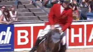 Ludger Beerbaum - Goldfever (Grosso Z x Galvano)  - European Championships Mannheim 2007