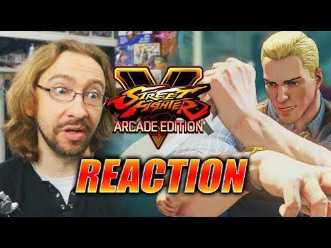 MAX REACTS: Mayor Cody Reveal - Street Fighter 5 Season 3
