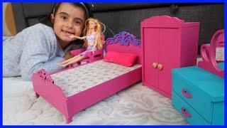 Barbie Bebeğimizin Eşyalarını Düzenledik   Rüya'nın Kanalı