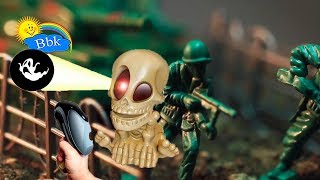 Домашние сражения игрушек ↑ Военные солдатики,  нёрфы, зомби ↑ Обзор игрушек