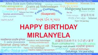 Mirlanyela   Languages Idiomas - Happy Birthday
