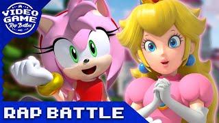 Download Princess Peach vs. Amy Rose - Video Game Rap Battle