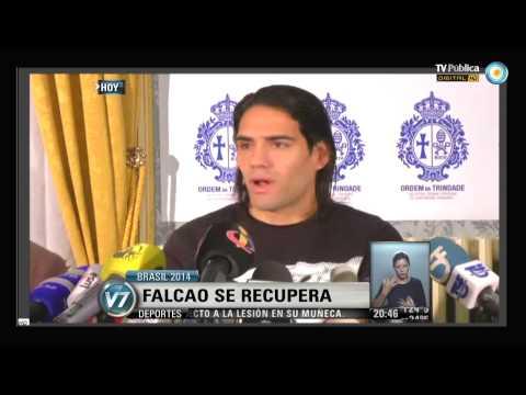 Visión 7: Falcao se recupera y sueña con el Mundial