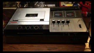 1970s Teac 220 Cassette Tape Player Recorder Teardown