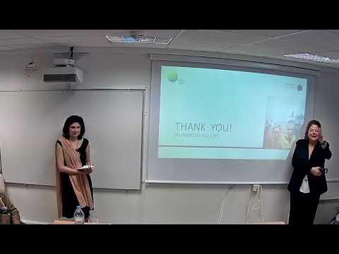 Jo Puri - Human behaviour and evaluation. Athens University, March 2018.