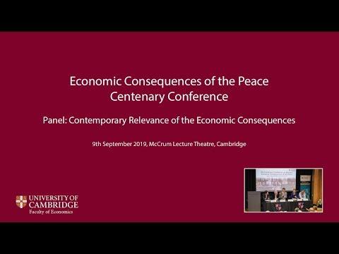 Economic Consequences Centenary Panel Discussion