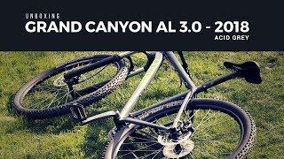 Unboxing Grand Canyon AL 3.0 Acid Grey - Deutsch