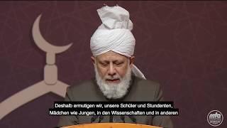 Auszug aus Rede Seiner Heiligkeit | Kalif in Deutschland (6)