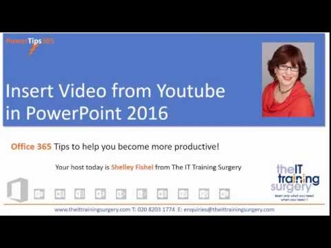 Insert video from youtube in powerpoint 2016 youtube insert video from youtube in powerpoint 2016 ccuart Gallery