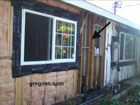 Exterior Home Remodeling Wall Insulation Tips Youtube