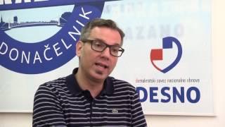 DESNO - Zamjenik predsjednika stranke DESNO Damir Petkov