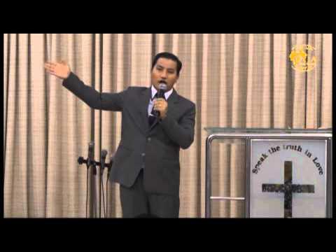 Pastor Khen Kip preaching July 12, 2015