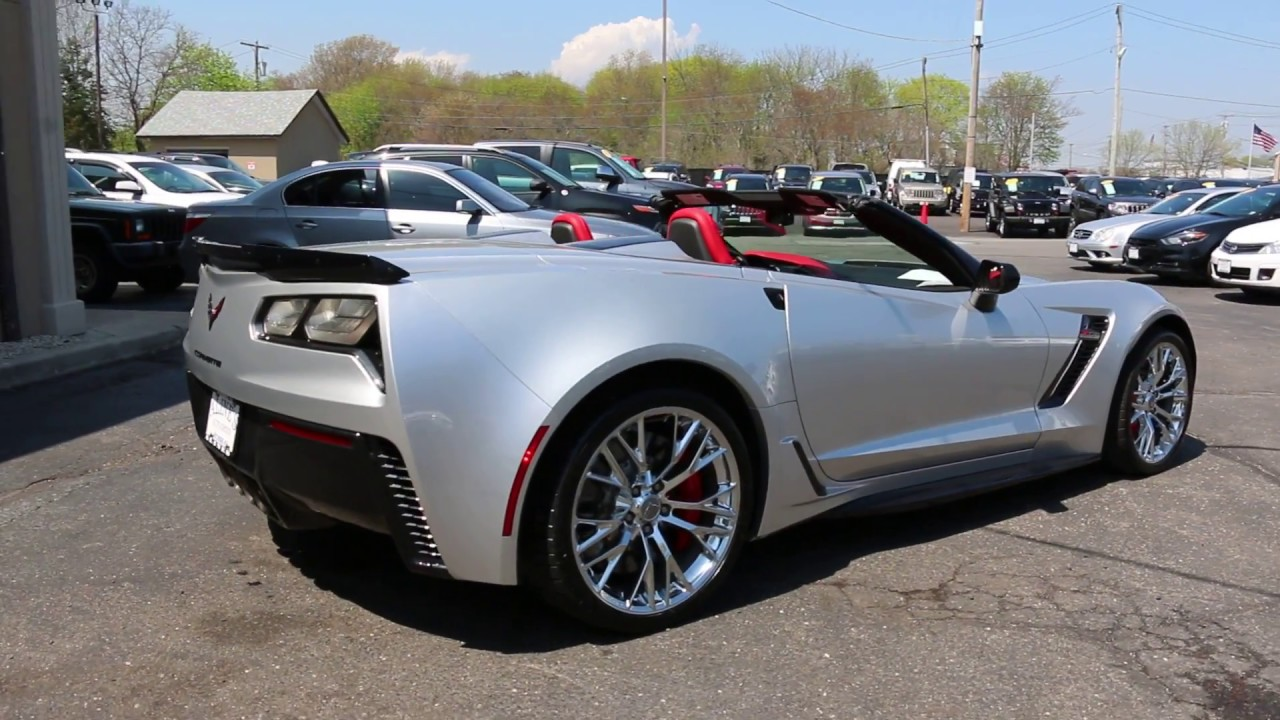 2017 Chevrolet Corvette Z06 2lz Convertible For Low Miles Loaded With Options