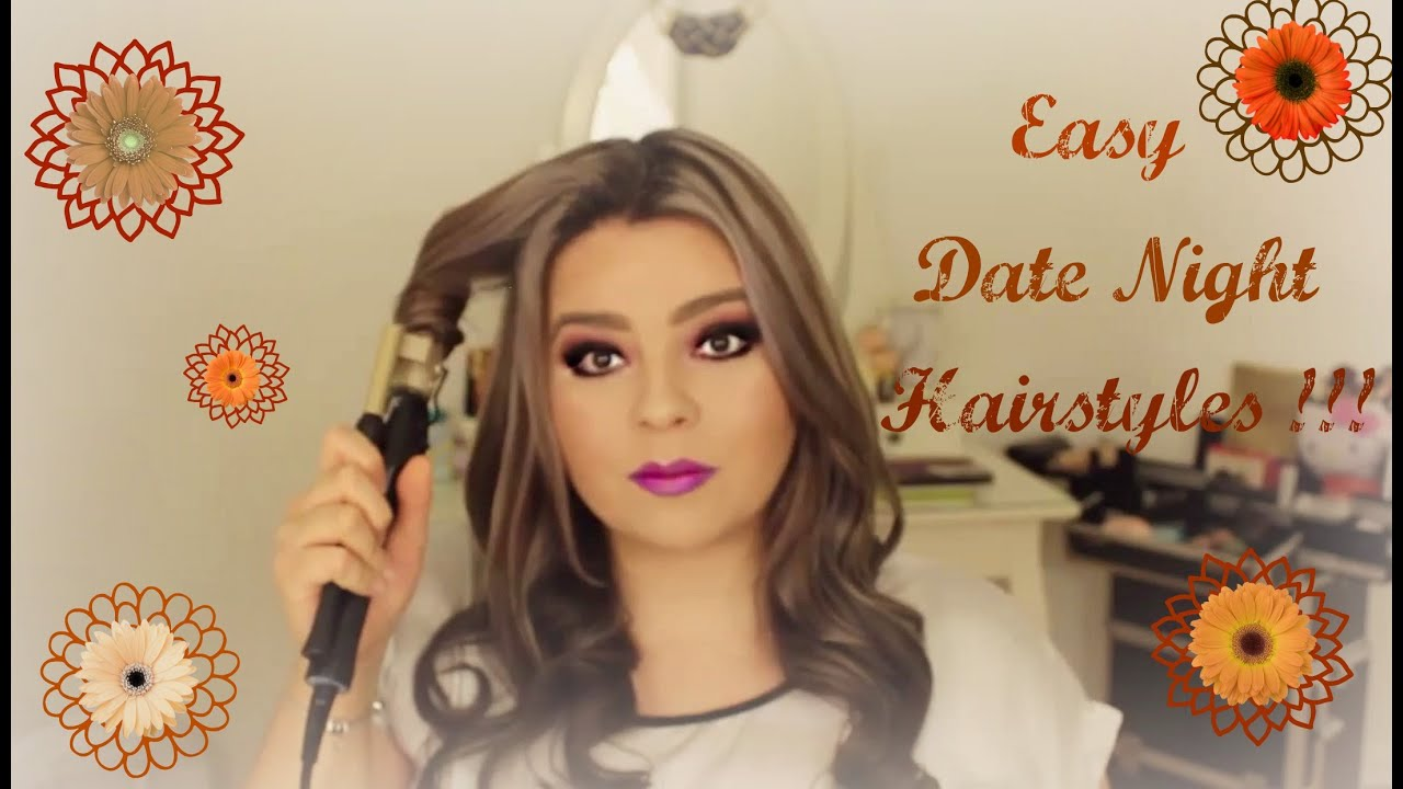 Easy date night hairstyles - YouTube
